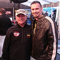 Ed Avery with Geoff Bodine