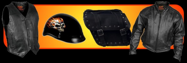 Hot Leathers Motorcycle Apparel and Gear