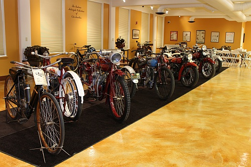 The Indian Motorcycle Display