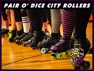 Pair O' Dice City Rollers
