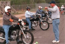 Motorcycle RiderTraining