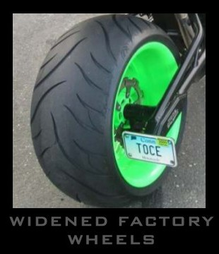 Widened Factory Wheels - Toce Performance