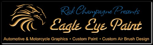 Eagle Eye Paint - Featured Painter of the Springfield Motorcycle Show