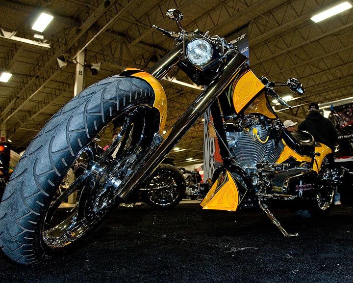 Motorcycle exhibits